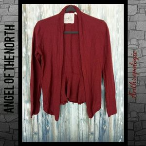Angel of the north by Anthropologie short cardigan